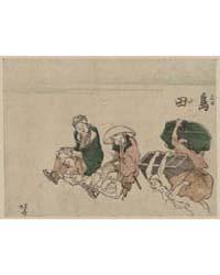 Shimada, Photograph 00158V by Katsushika, Hokusai