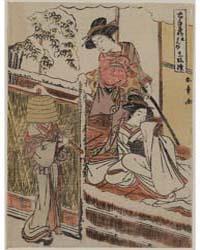 Kudanme, Photograph 00213V by Katsukawa, Shunshō