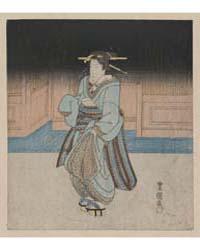Yoru No Fukagawa Geisha, Photograph 0024... by Utagawa, Toyokuni