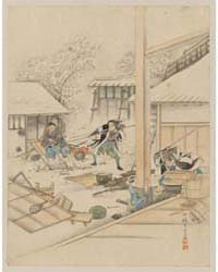 Jūichidanme, Act Eleven of the Chūshingu... by Library of Congress