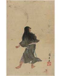 Warrior or Actor with Long Hair and Brac... by Library of Congress