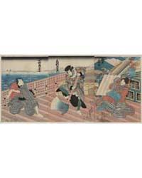 Hakata Kojorō Kezori Kuemon Komatsuya Sō... by Utagawa, Kuniyoshi
