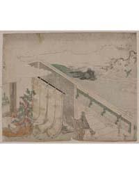 Ume Ni Uguisu O Nagameru Kanjo, Photogra... by Library of Congress