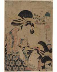 Yamabuki Ōgiya Uchi Takigawa, Photograph... by Utamaro II