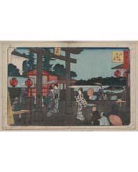 Yushima Tenmangū, Photograph 00496V by Andō, Hiroshige