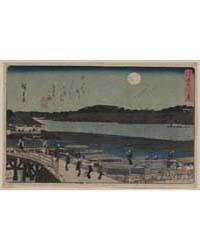 Sumida Gawa No Tsuki, Photograph 00497V by Andō, Hiroshige