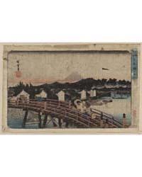 Nihonbashi No Hakuu, Photograph 00502V by Andō, Hiroshige