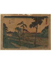 Totsuka, Photograph 00519V by Andō, Hiroshige