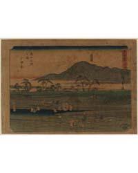 Odawara, Photograph 00520V by Andō, Hiroshige