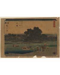 Kawasaki, Photograph 00521V by Andō, Hiroshige