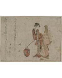 Gokuin Sen'Emon to Okuri No Onna, Photog... by Katsushika, Hokusai