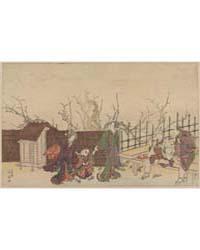 Kameido Umeyashiki, Photograph 00615V by Katsukawa, Shunsen