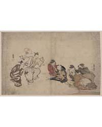 Manzai O Miru Joseifujo? to Kodomo, Phot... by Kubo, Shunman