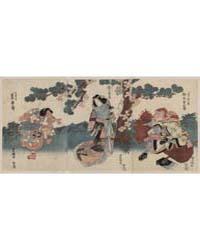 Matsumoto Kōshirō, Segawa Kikunojō, Iwai... by Utagawa, Toyokuni