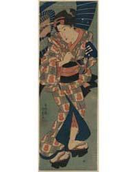 Nagauta No Keiko Ni Kayou Musume, Photog... by Utagawa, Kunisada
