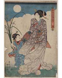 Tsuki, Photograph 00707V by Utagawa, Kunisada
