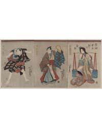 Mukashigatari Kuwana Matsuri No Furugoto... by Utagawa, Toyokuni