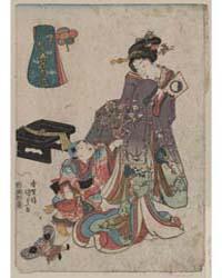 Mutsuki, Photograph 00716V by Utagawa, Toyokuni