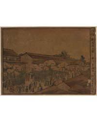 Ukie Shin Yoshiwara No Zu, Photograph 00... by Utagawa, Toyokuni