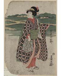 Iwai Hanshirō No Sagoemon Musume Oyone, ... by Utagawa, Toyokuni