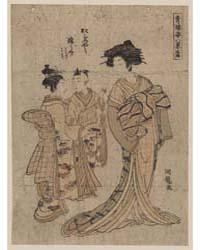 Rakugan Matsubaya Somenosuke, Photograph... by Isoda, Koryūsai