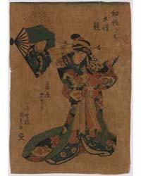 Ōgiya Yūgiri, Photograph 00857V by Utagawa, Toyokuni