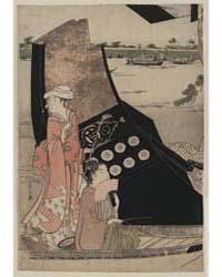 Senjō No Sarumawashi, Photograph 00861V by Hosoda, Eishi