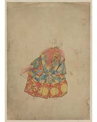 A Clown Wearing Colorful Costume and Mas... by Library of Congress