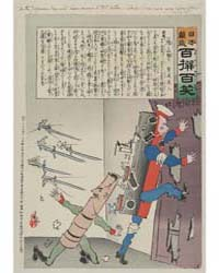 As the Japanese Bayonets Draw Nearer to ... by Kobayashi, Kiyochika