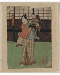 Izutsu Kumenosuke, Photograph 01015V by Utagawa, Toyokuni