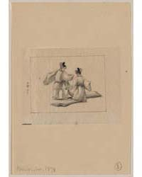 Two Men with Long Robes Dancing, Photogr... by Library of Congress
