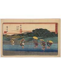 Fujieda, Photograph 01281V by Andō, Hiroshige