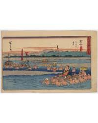 Kanaya, Photograph 01282V by Andō, Hiroshige
