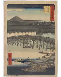 Nihonbashi, Photograph 01292V by Andō, Hiroshige