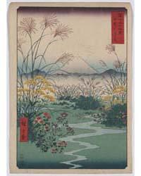 Kai Outsuki No Hara, Photograph 01321V by Andō, Hiroshige