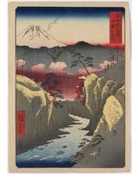 Kai Inume Tōge, Photograph 01322V by Andō, Hiroshige