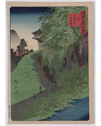 Shinshū Zenkōji Michi Kusuri Yama, Photo... by Utagawa, Hiroshige