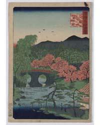 Yamashiro Ōtani Meganebashi, Photograph ... by Utagawa, Hiroshige