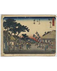 Fujisawa, Photograph 01425V by Andō, Hiroshige