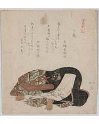 Kudō (Suketsune) No Isyō, Photograph 014... by Totoya, Hokkei