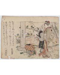 Haru No Noasobi, Photograph 01455V by Teisai, Hokuba