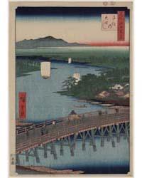 Senju No Oubashi, Photograph 01578V by Andō, Hiroshige