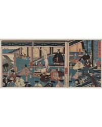 Hyōgo Chikutō Hitobashira No Zu, Photogr... by Utagawa, Yoshikazu