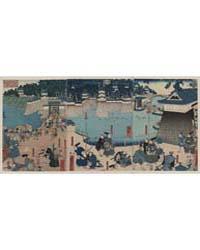 Kusunoki Masashige Chihayajō Rōjō No Zu,... by Utagawa, Yoshifuji