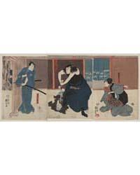 Igami No Gonta Gonta Nyōbō Kosen Shūme K... by Utagawa, Kuniyoshi