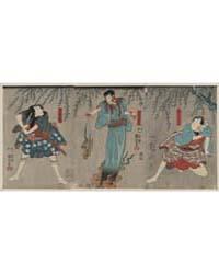 Dōguya Jinza Hōkaibō Bōkon Shimobe Gunsu... by Utagawa, Kuniyoshi