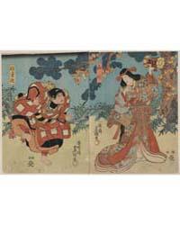 Yamauba to Kaidōmaru, Photograph 01744V by Utagawa, Toyokuni