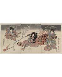 Iwai Kumesaburō Ichikawa Danjūrō Iwai Sh... by Utagawa, Kuniyasu