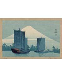 Fuji Ni Hansen, Photograph 01825V by Uehara, Konen