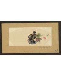 Oiran Zu, Photograph 01841V by Katsushika, Hokusai